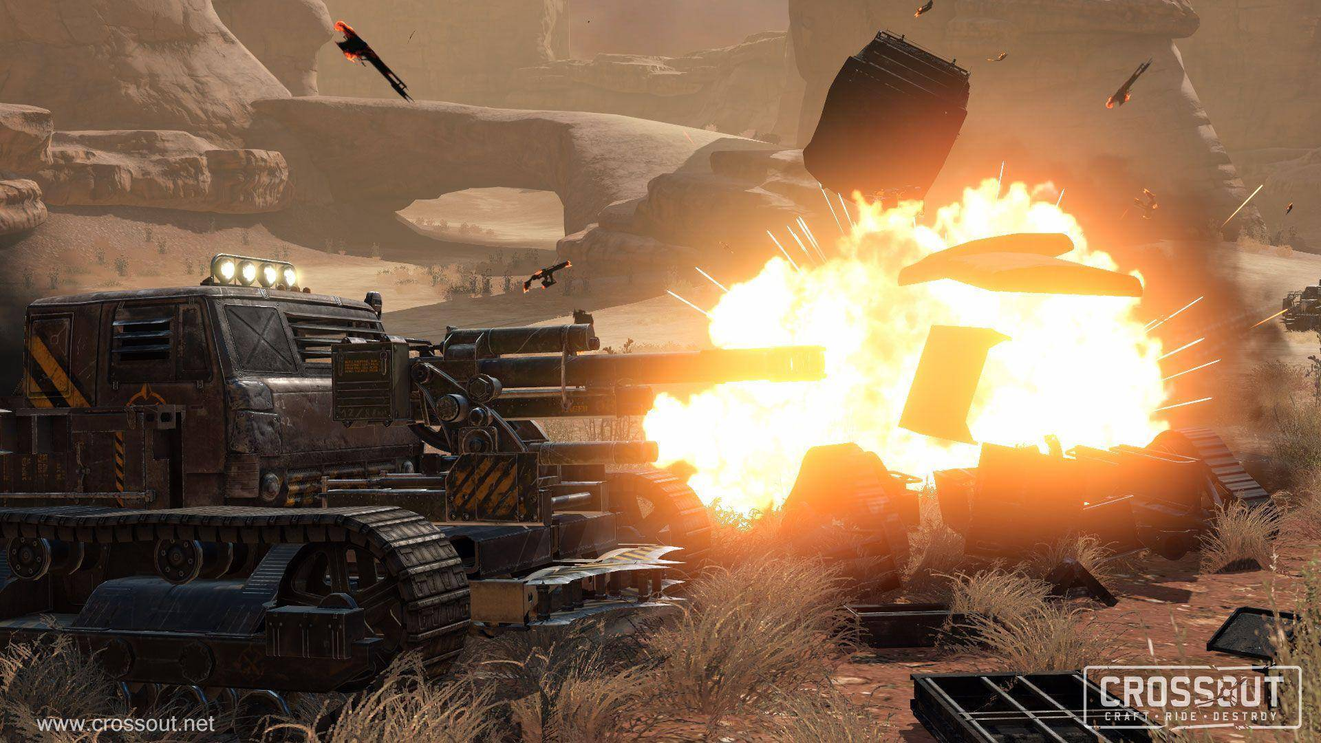 Article title about Crossout