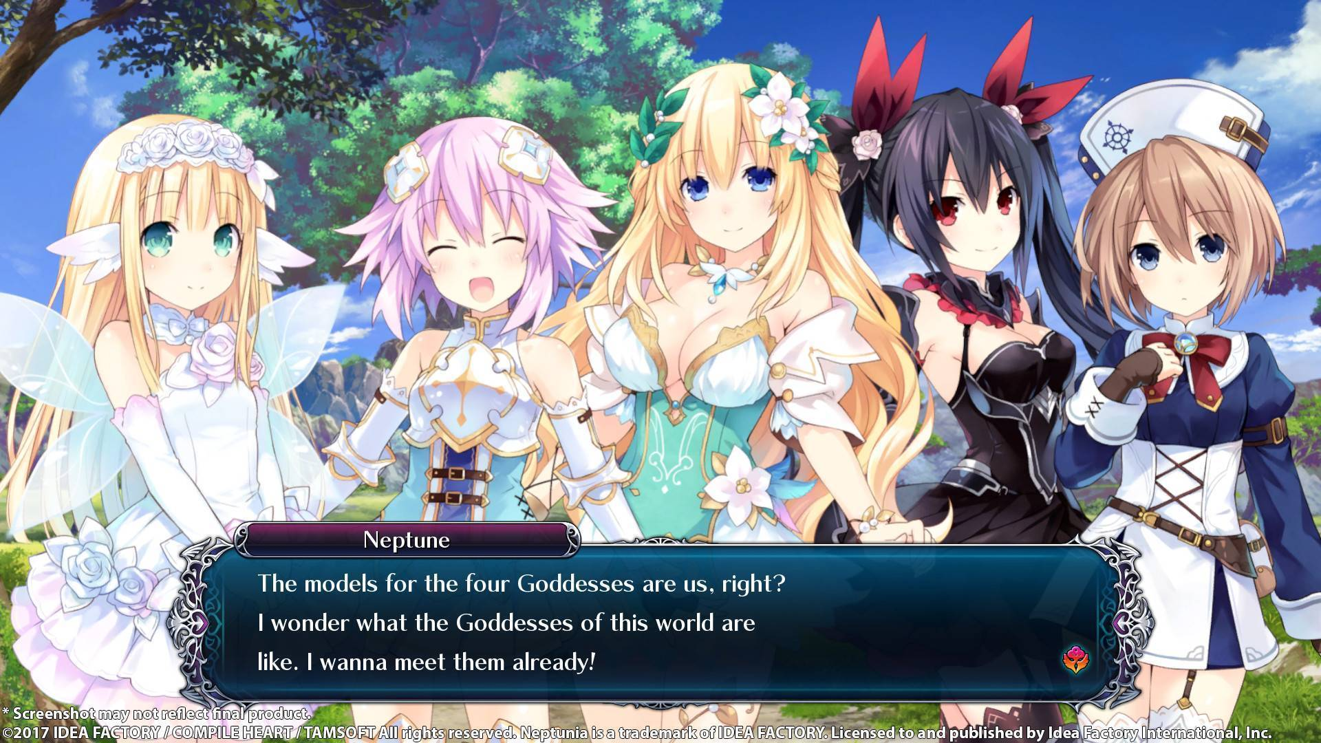 cyberdimension neptunia 4 goddesses online pc cd key. Black Bedroom Furniture Sets. Home Design Ideas
