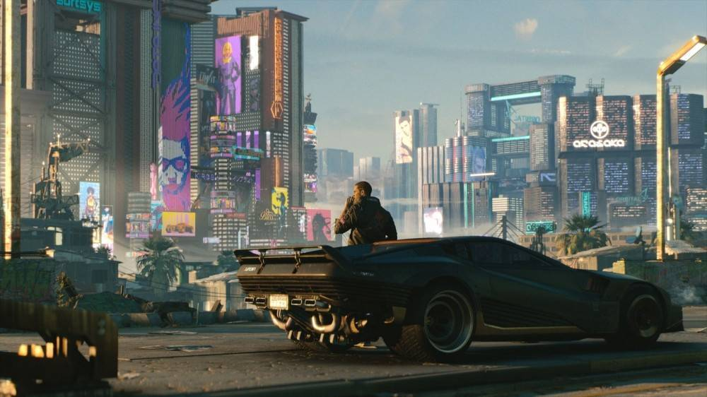 Article title about Cyberpunk 2077