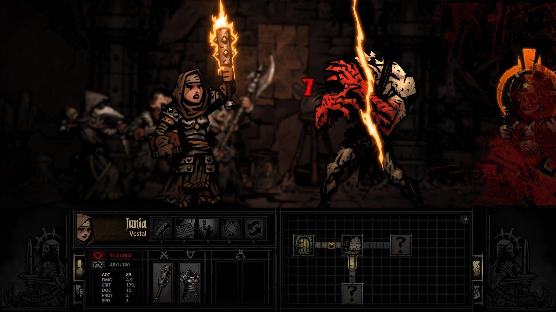 Article title about Darkest Dungeon