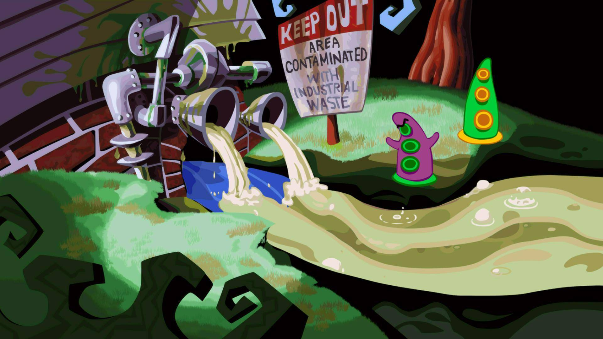 Trailer von Day of the Tentacle Remastered  anschauen