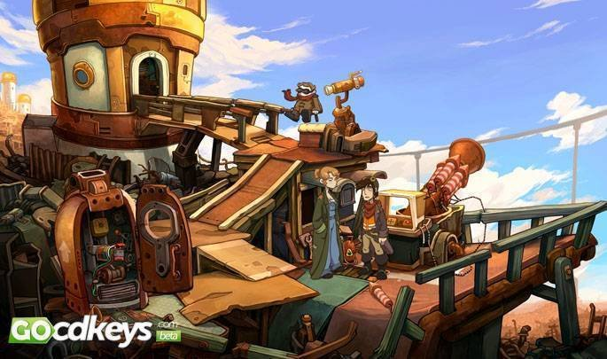 Article title about Deponia