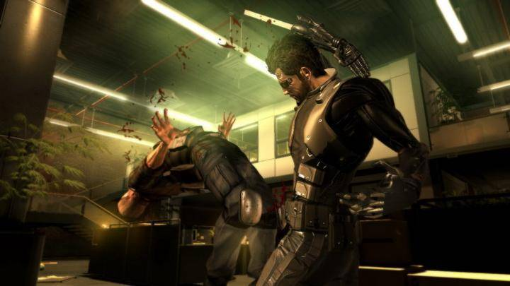 Article title about Deus Ex Mankind Divided