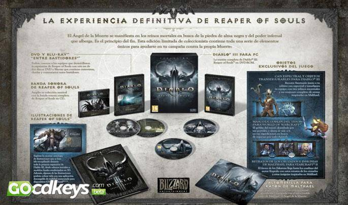 Trailer von Diablo 3 Reaper of Souls Collectors Edition anschauen