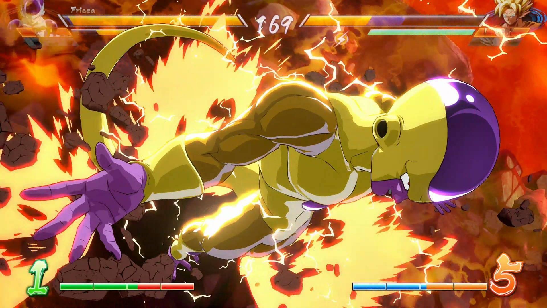 Article title about DRAGON BALL FighterZ