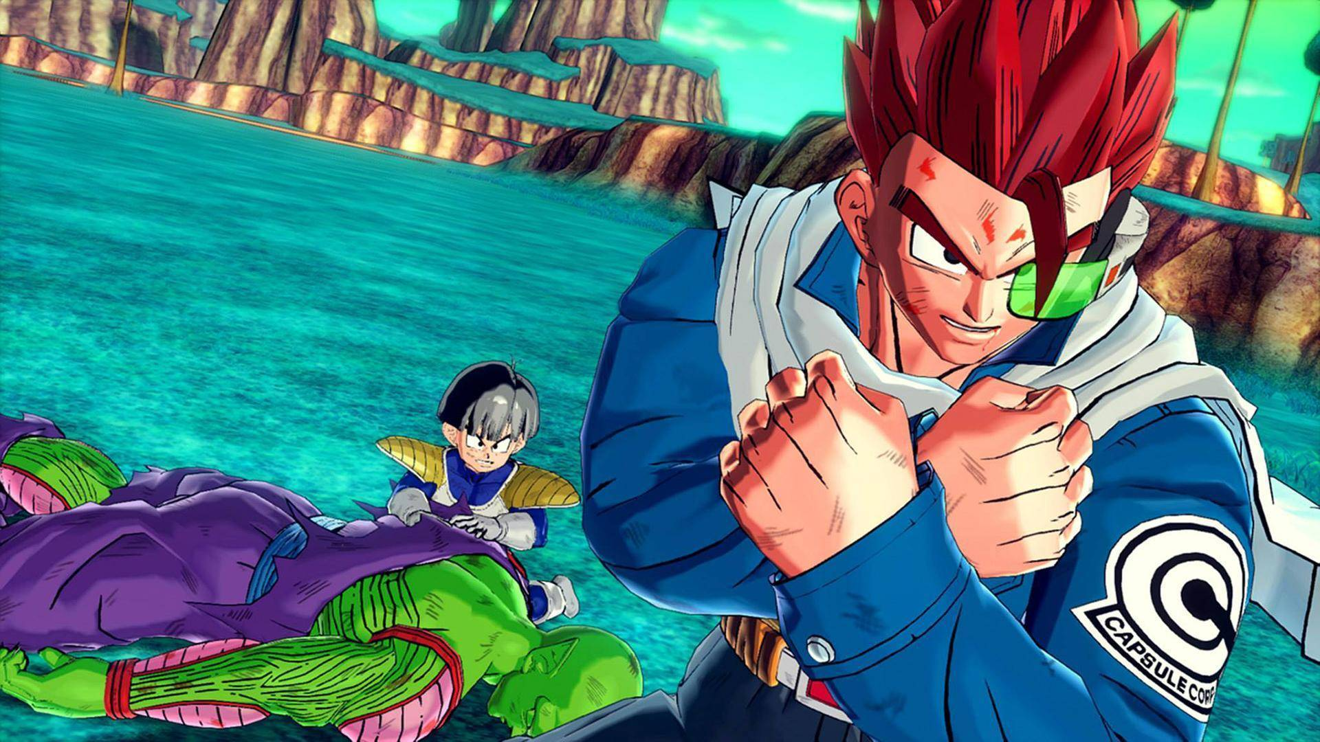 Article title about Dragon Ball Xenoverse