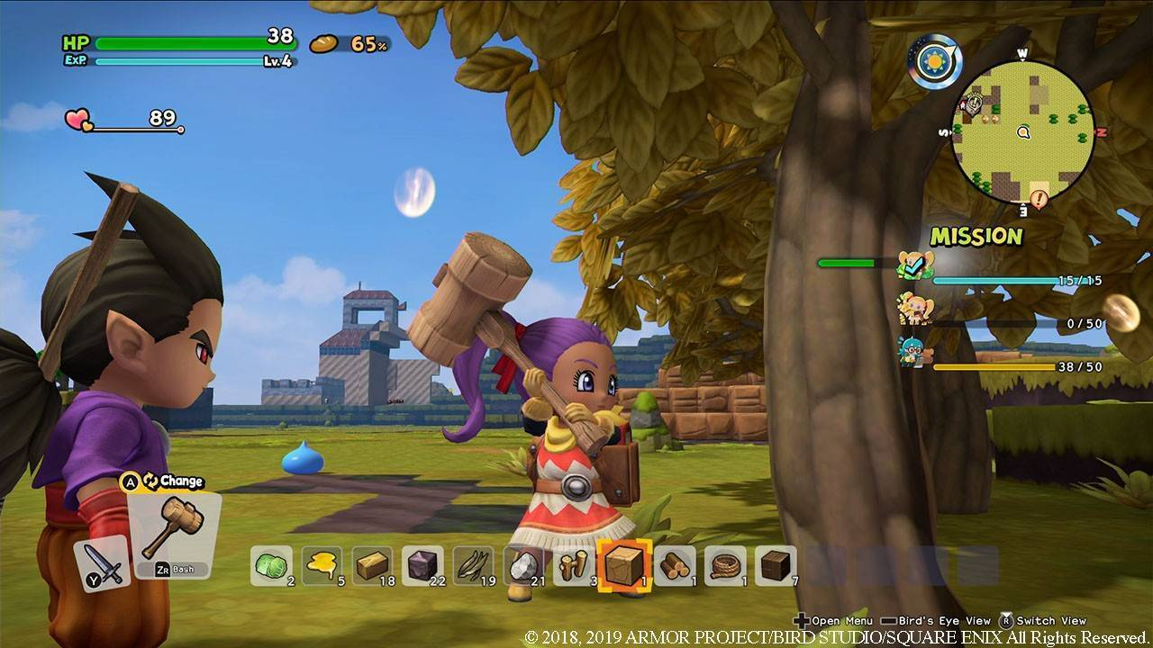 Article title about Dragon Quest Builders 2