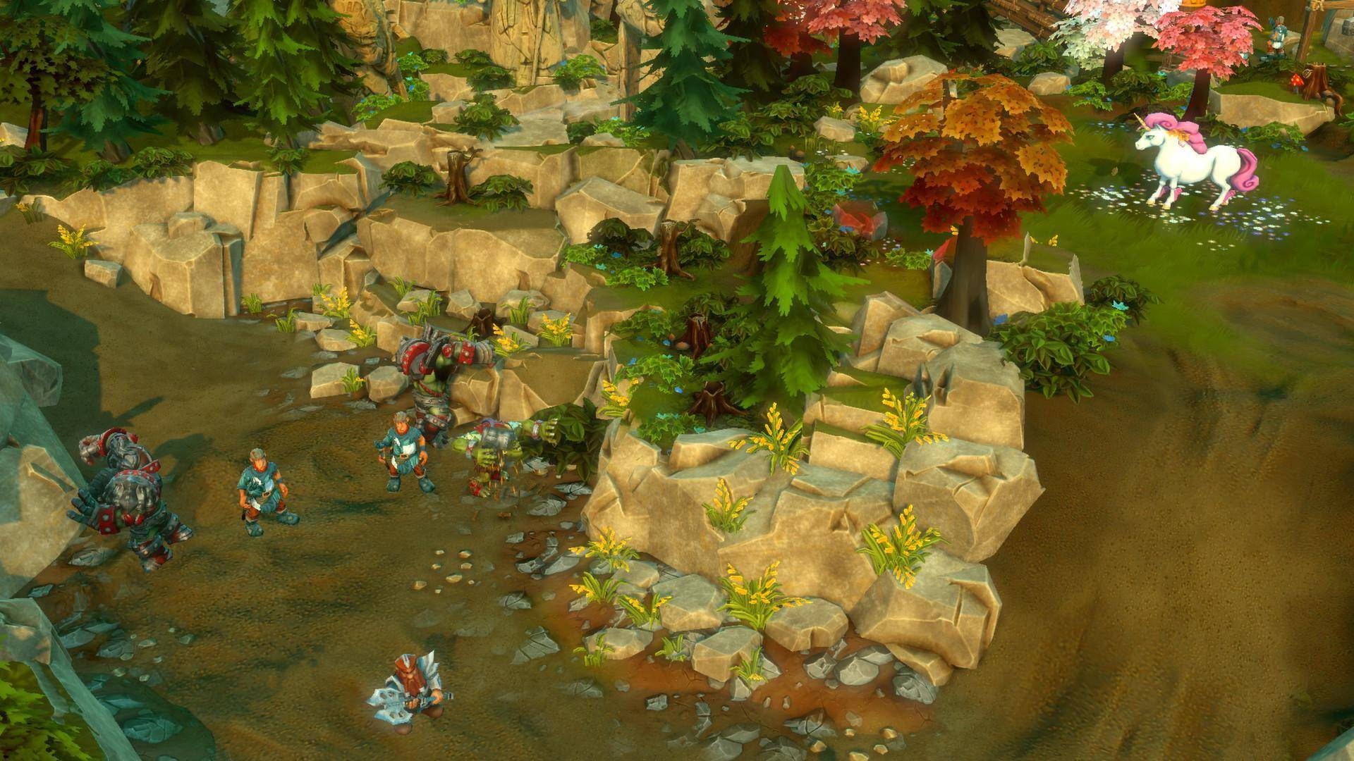 Article title about Dungeons 2