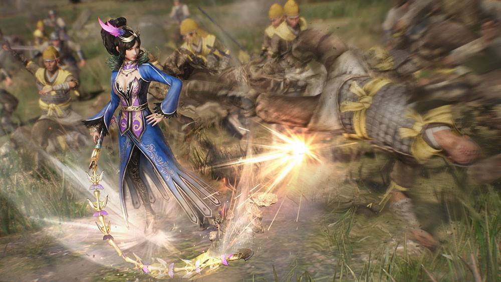 Article title about Dynasty Warriors 9