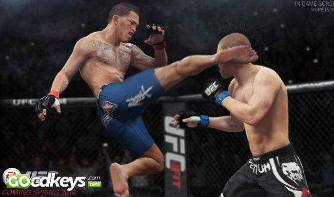 Article title about EA Sports UFC