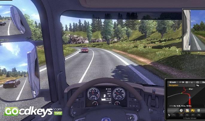 Euro truck simulator 2 special edition (digital download card.