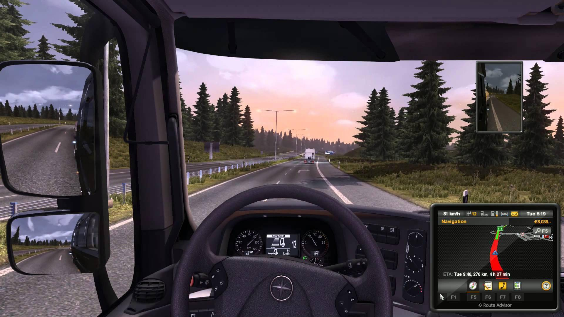 buy euro truck simulator 2 scandinavia pc cd key for steam. Black Bedroom Furniture Sets. Home Design Ideas