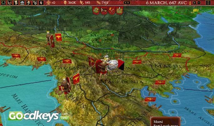 Buy Europa Universalis Rome Gold Pc Cd Key For Steam Compare Prices - Eu rome map