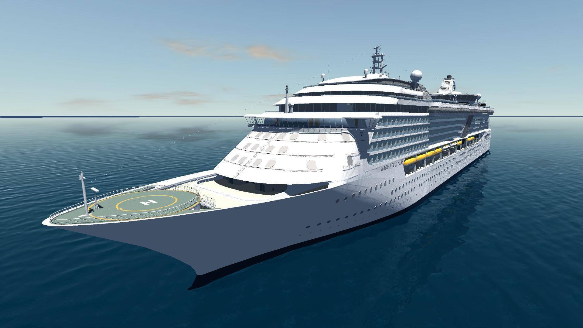 A smallish cruise ship, with about 2, passenger capacity, with moderate amenities, sailing in the Caribbean might come in somewhat below $,, For a somewhat huge ALLURE OF THE SEAS, figure on $bn.