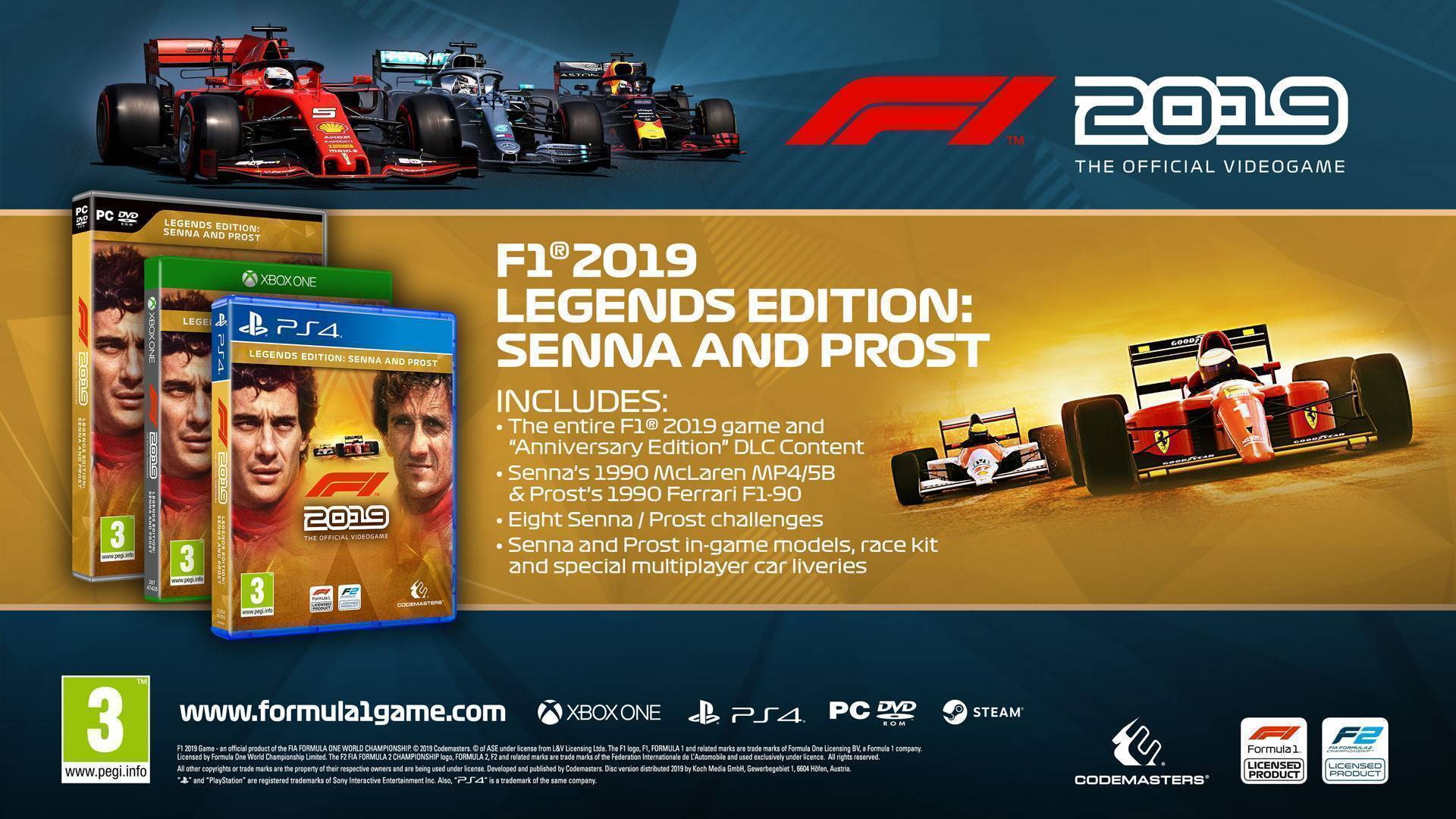 Buy F1 2019 pc cd key for Steam - compare prices