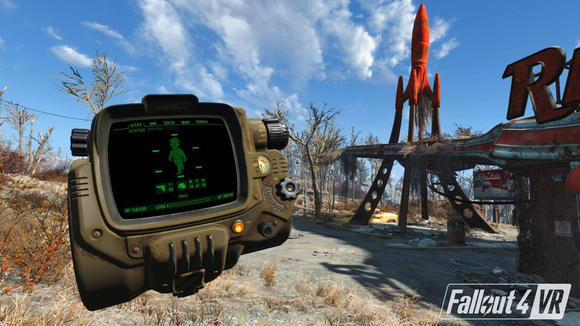 Article title about Fallout 4 VR