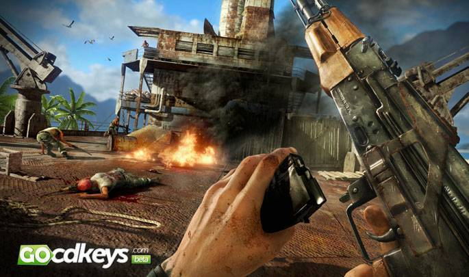 Watch Far Cry 3 cd key trailer