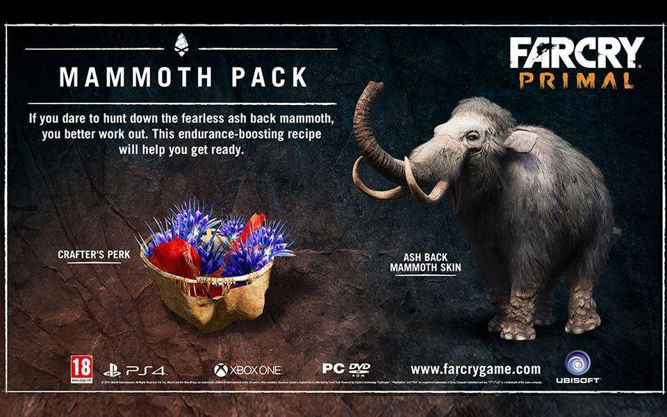 Buy Far Cry Primal Legend Of The Mammoth Dlc Pc Cd Key For Uplay Compare Prices