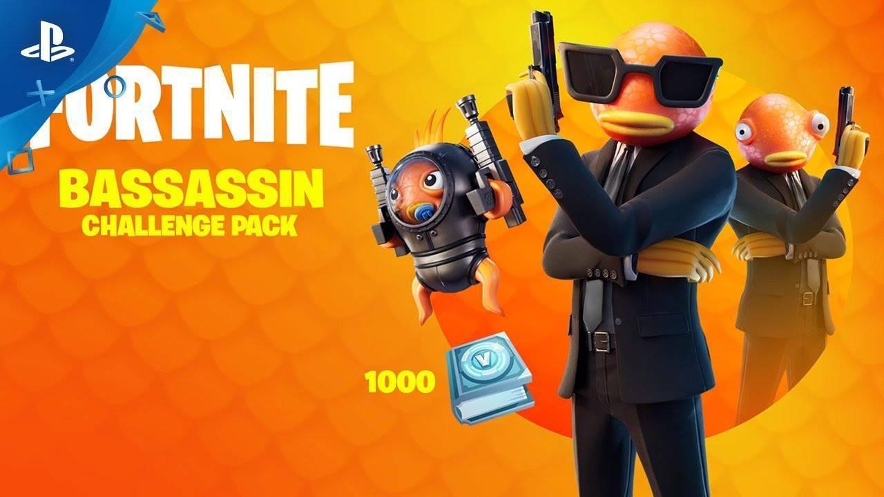 fortnite bassassin challenge pack xbox one cheap  price