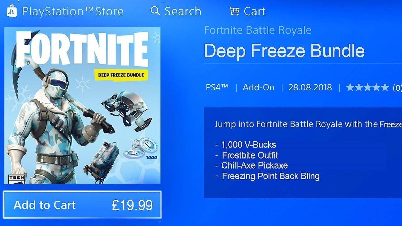 Fortnite Deep Freeze Bundle Xbox One Kaufen Preisvergleich