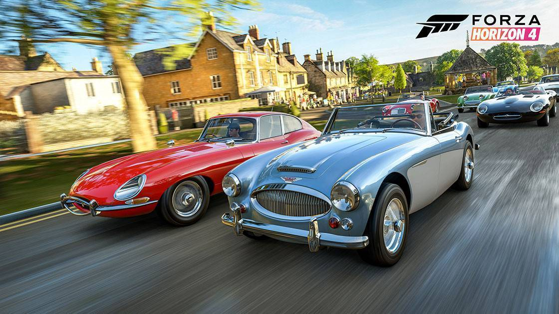 Article title about Forza Horizon 4