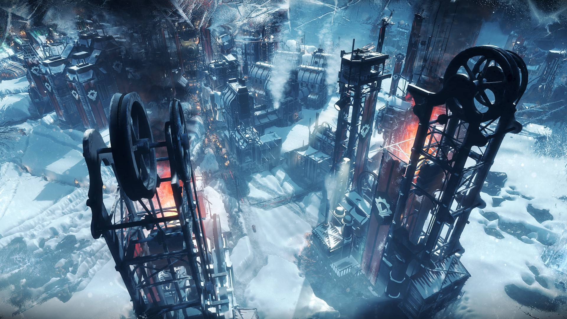 Article title about Frostpunk CONSOLE EDITION