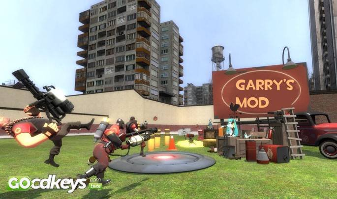 Buy Garrys Mod pc cd key for Steam - compare prices