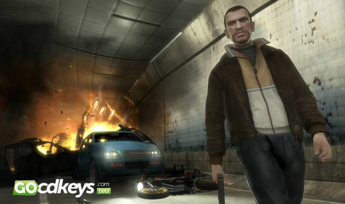 Article title about Grand Theft Auto IV