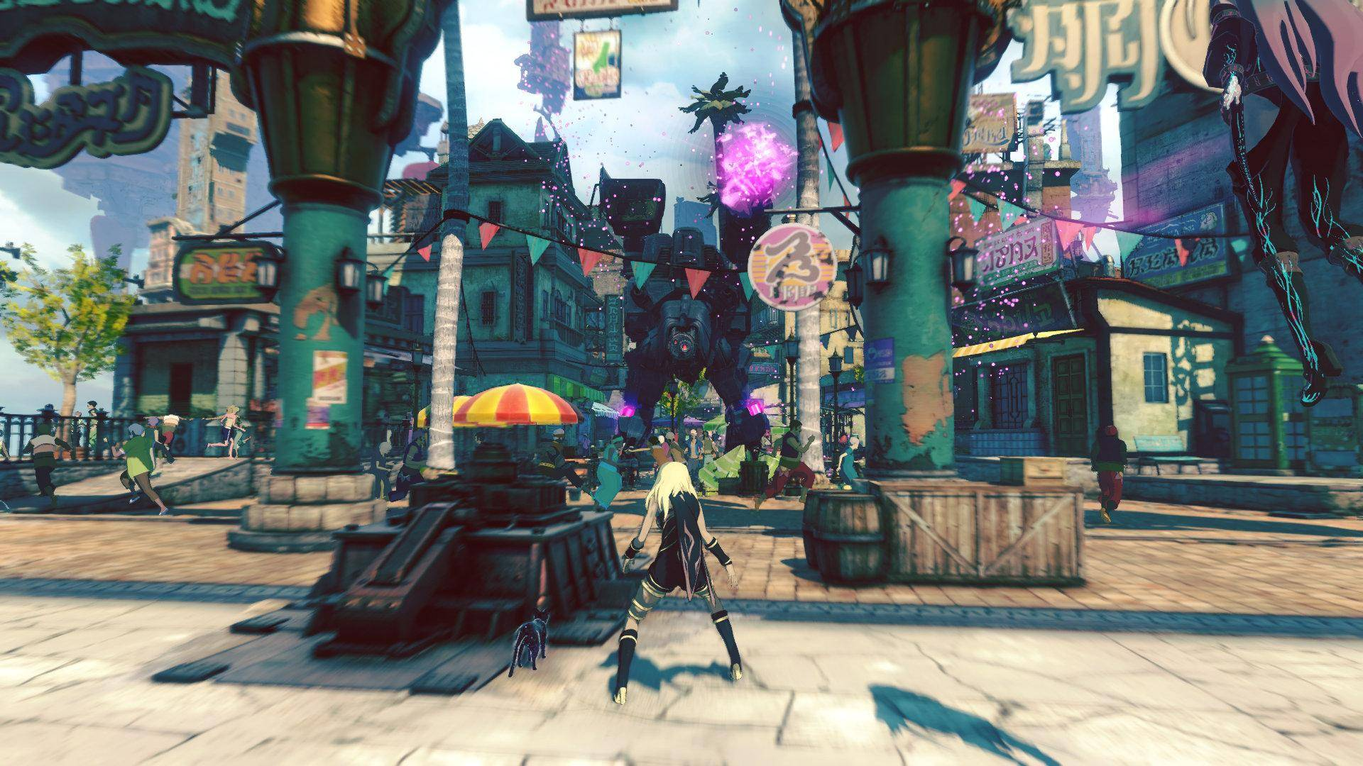 Article title about Gravity Rush 2