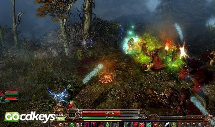Article title about Grim Dawn