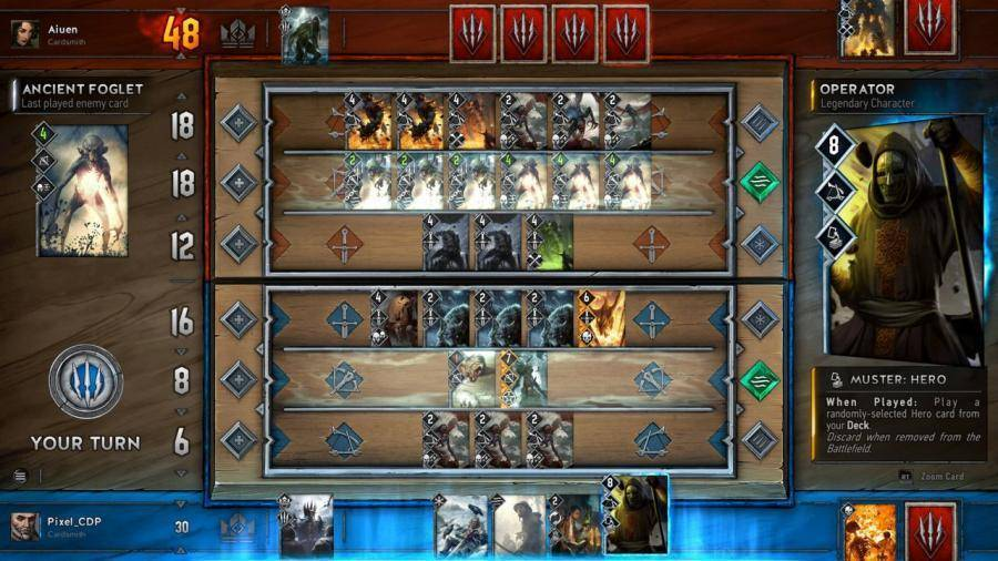 Ver el tráiler de Gwent The Witcher Card Game
