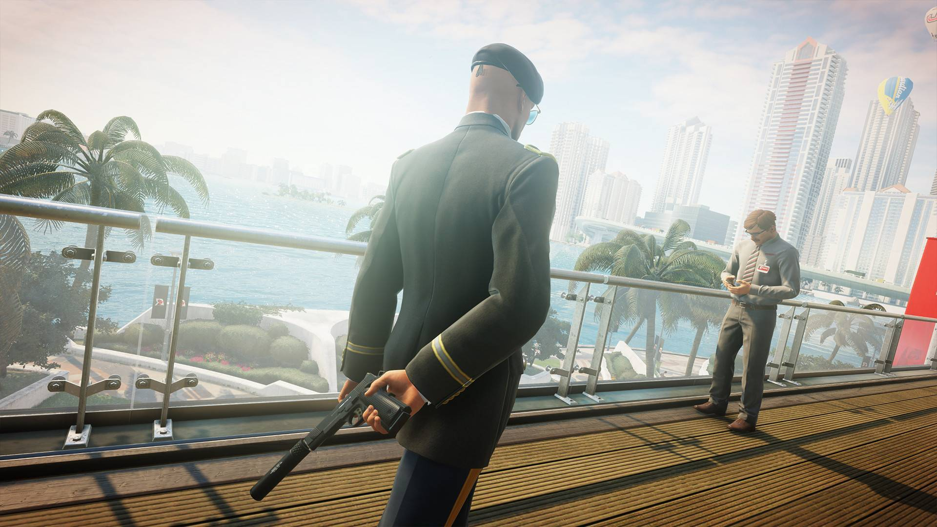 Article title about HITMAN 2