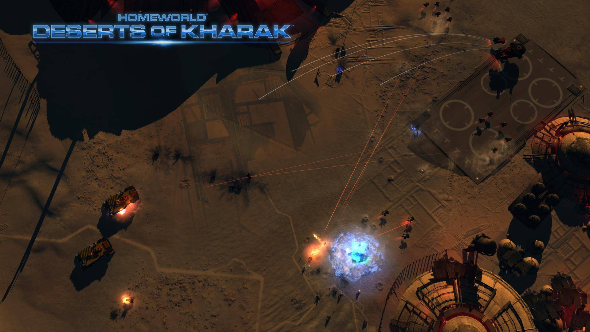Article title about Homeworld Deserts of Kharak