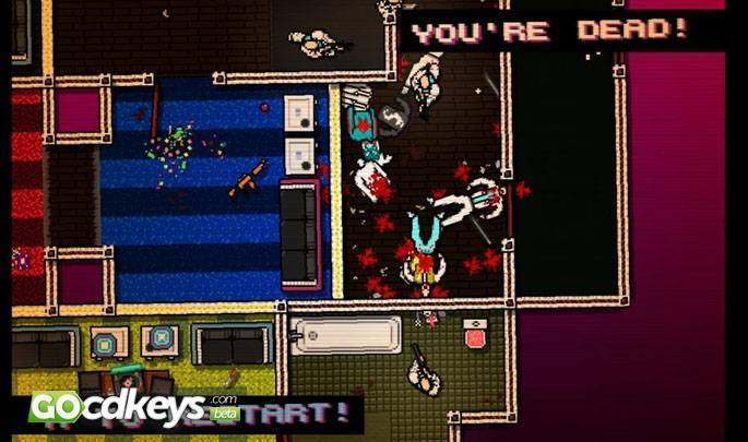 Article title about Hotline Miami