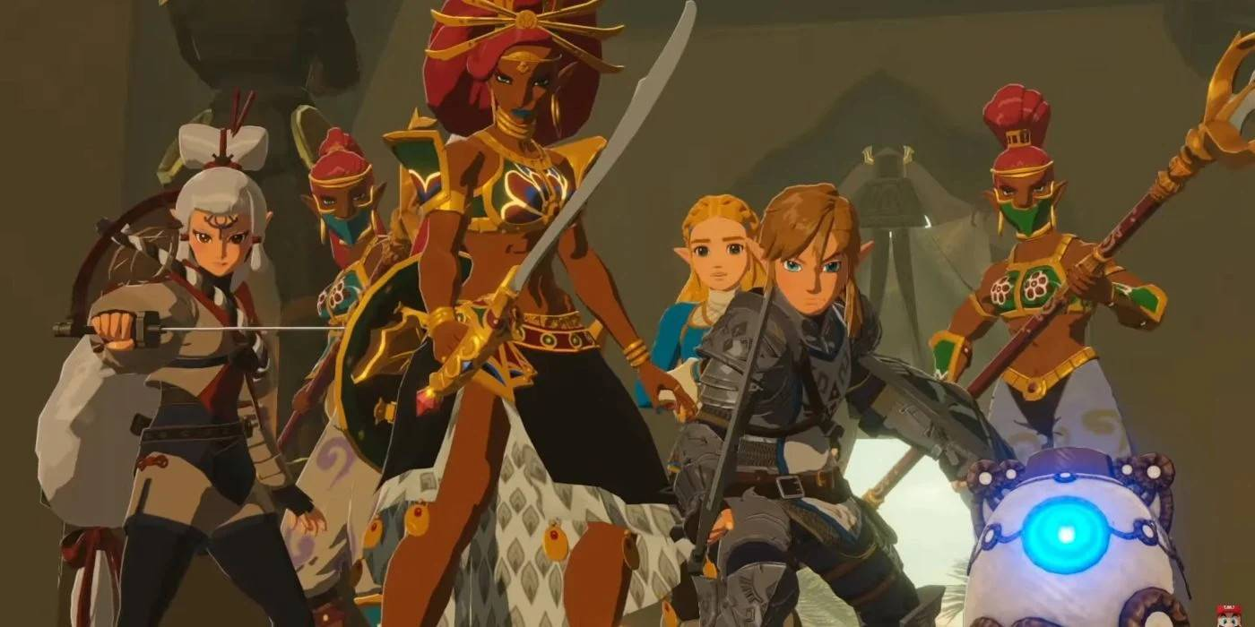 Comprar Hyrule Warriors Age Of Calamity Nintendo Switch Comparar Precios