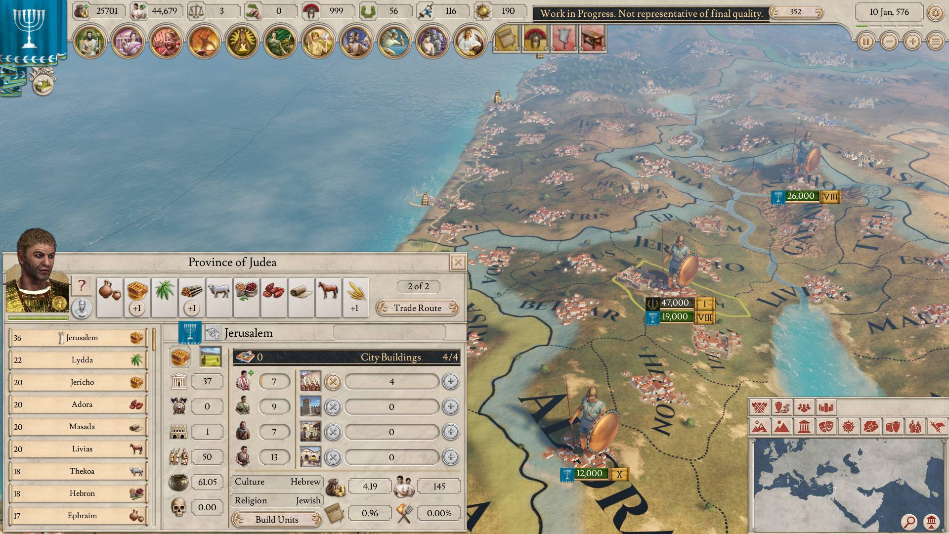 Article title about Imperator: Rome