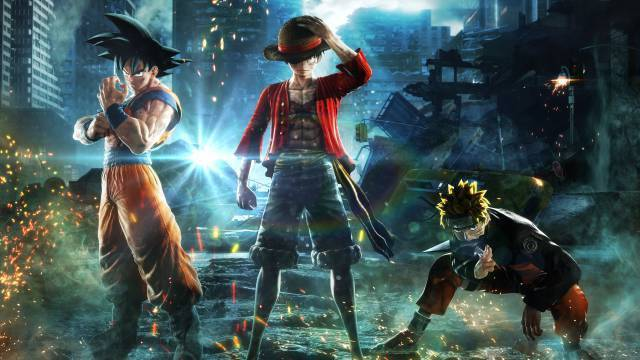 Article title about JUMP FORCE