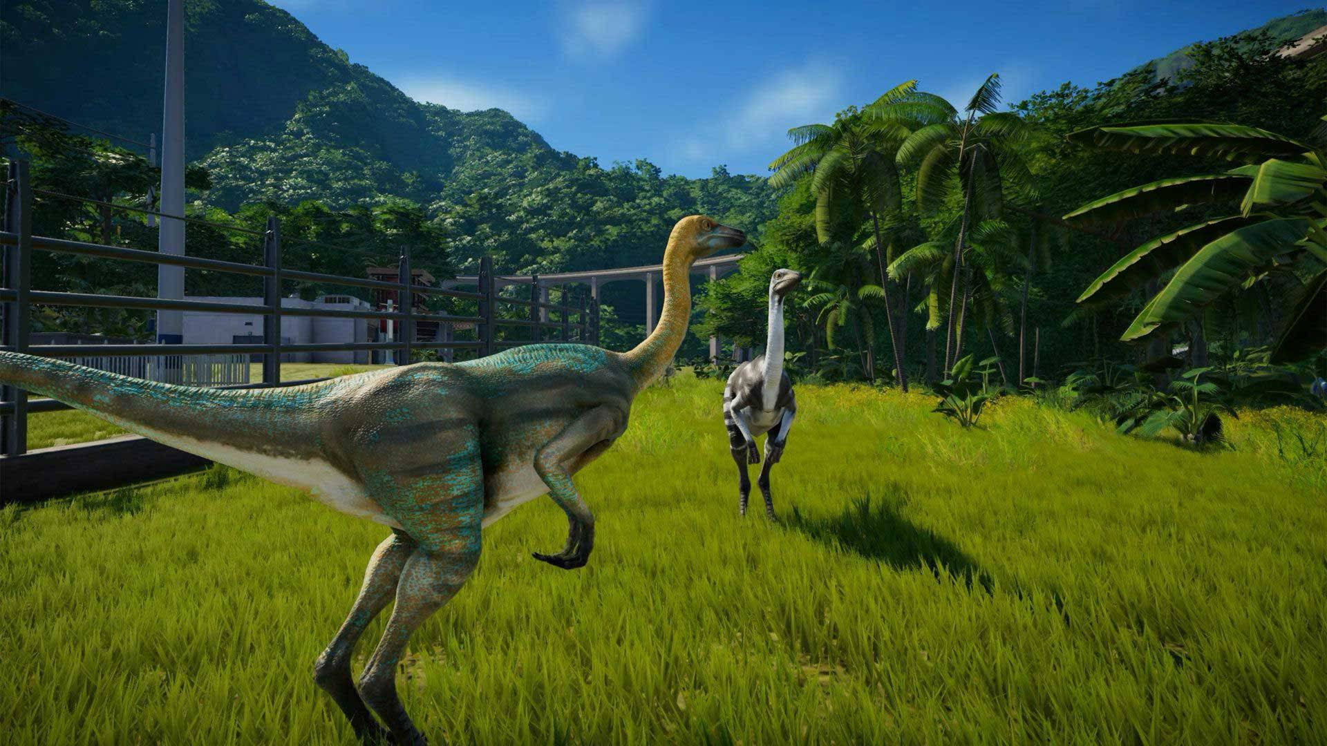 Titel des Artikels überJurassic World Evolution