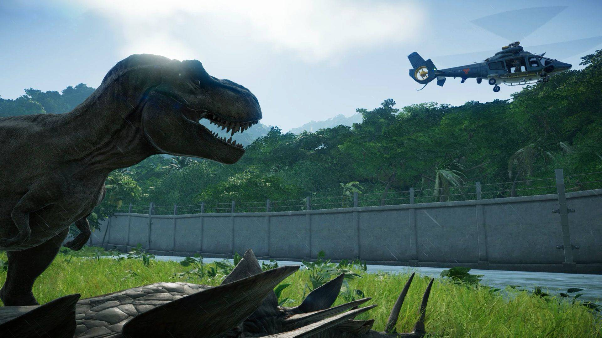 Article title about Jurassic World Evolution