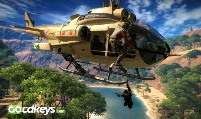 Article title about Just Cause 2