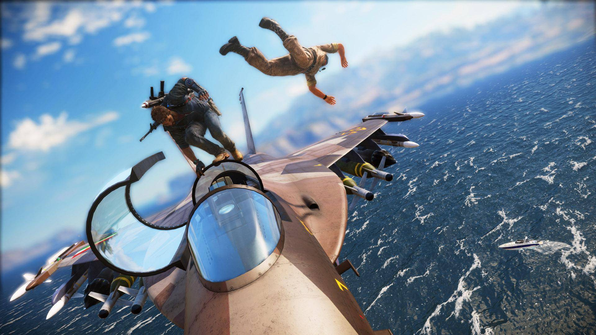 Article title about Just Cause 3