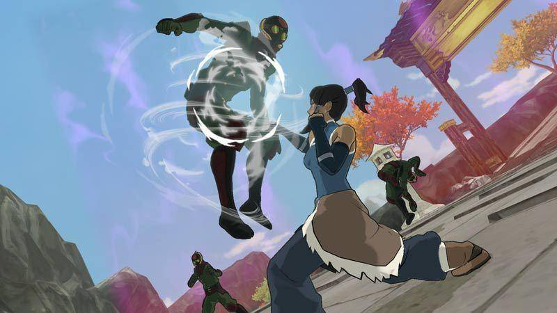 Article title about Legend of Korra