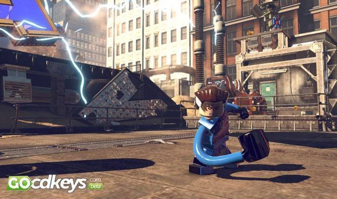 Article title about Lego Marvel Super Heroes