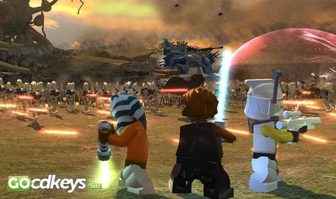 Buy LEGO Star Wars 3: The Clone Wars pc cd key for Steam - compare ...