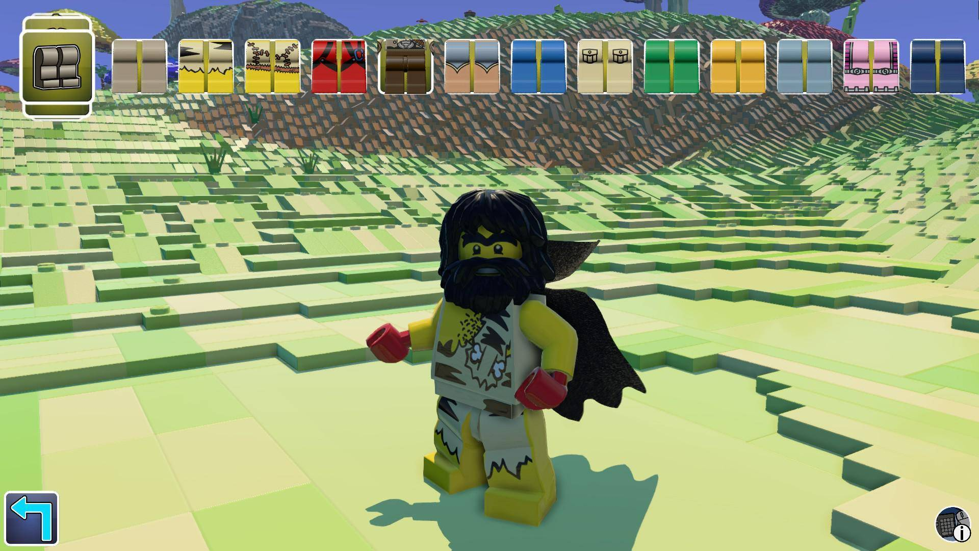 Article title about LEGO Worlds