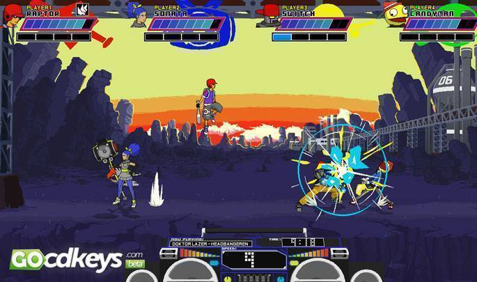 Article title about Lethal League