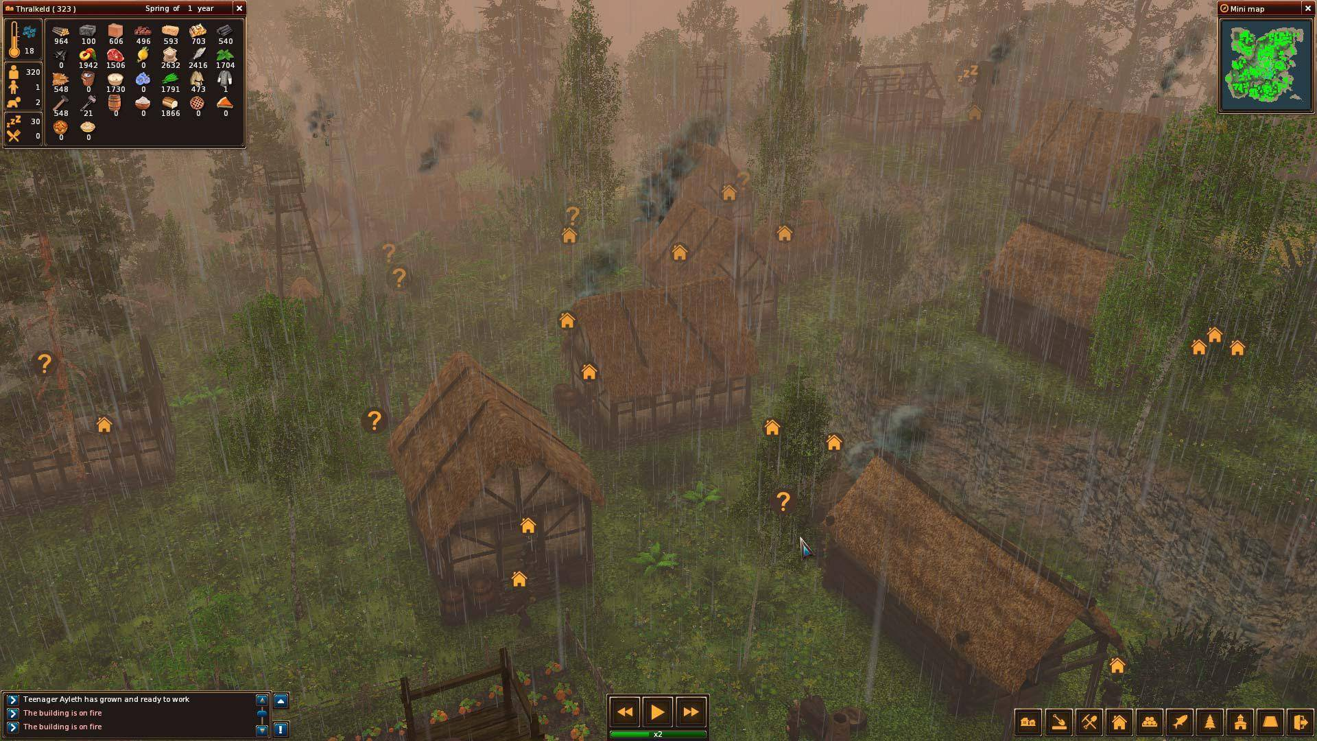 Life is feudal forest village trailer life is feudal your own time out