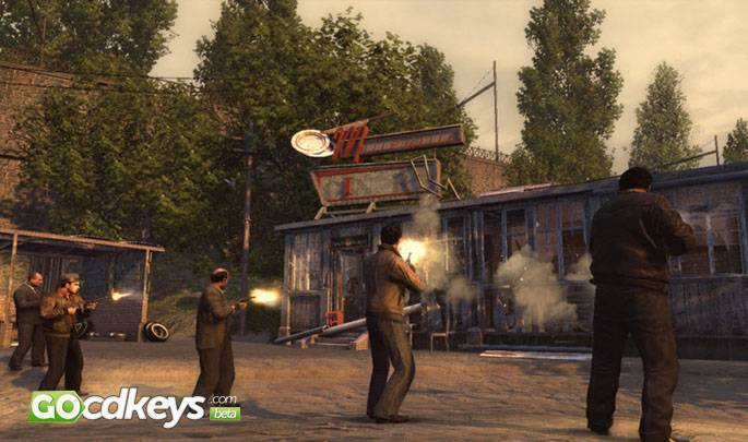 Article title about Mafia II