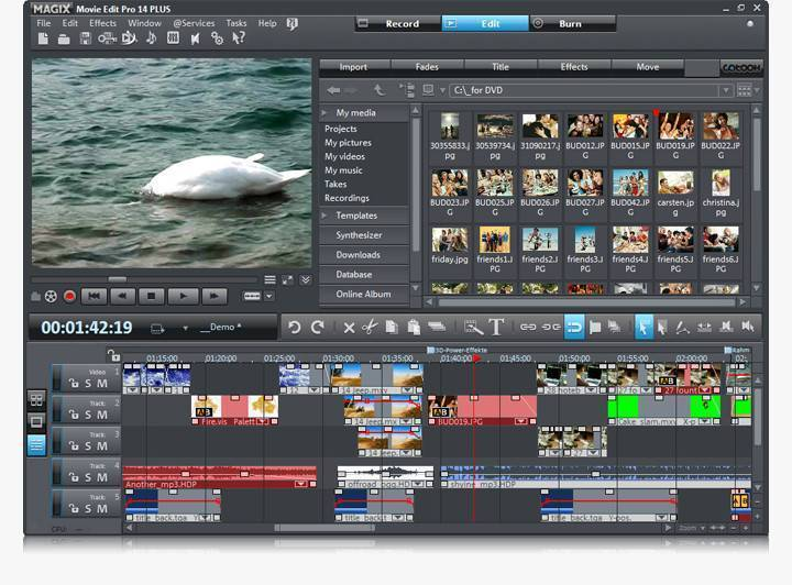 magix movie edit pro 18