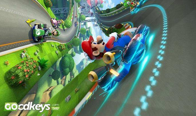 Article title about Mario Kart 8